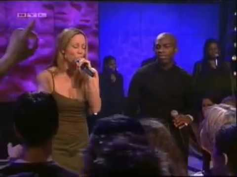 Mariah Carey & Joe Thomas - Thank God I Found You Live At Top Of The Pops - 2000