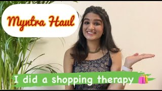 Kurtha Haul | Myntra Haul | Time for Shopping | Shopping therapy