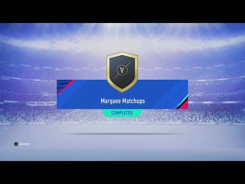 FIFA 19 SBC Marquee Matchups 22/02/2019 - Total Cost: 19,350 Coins