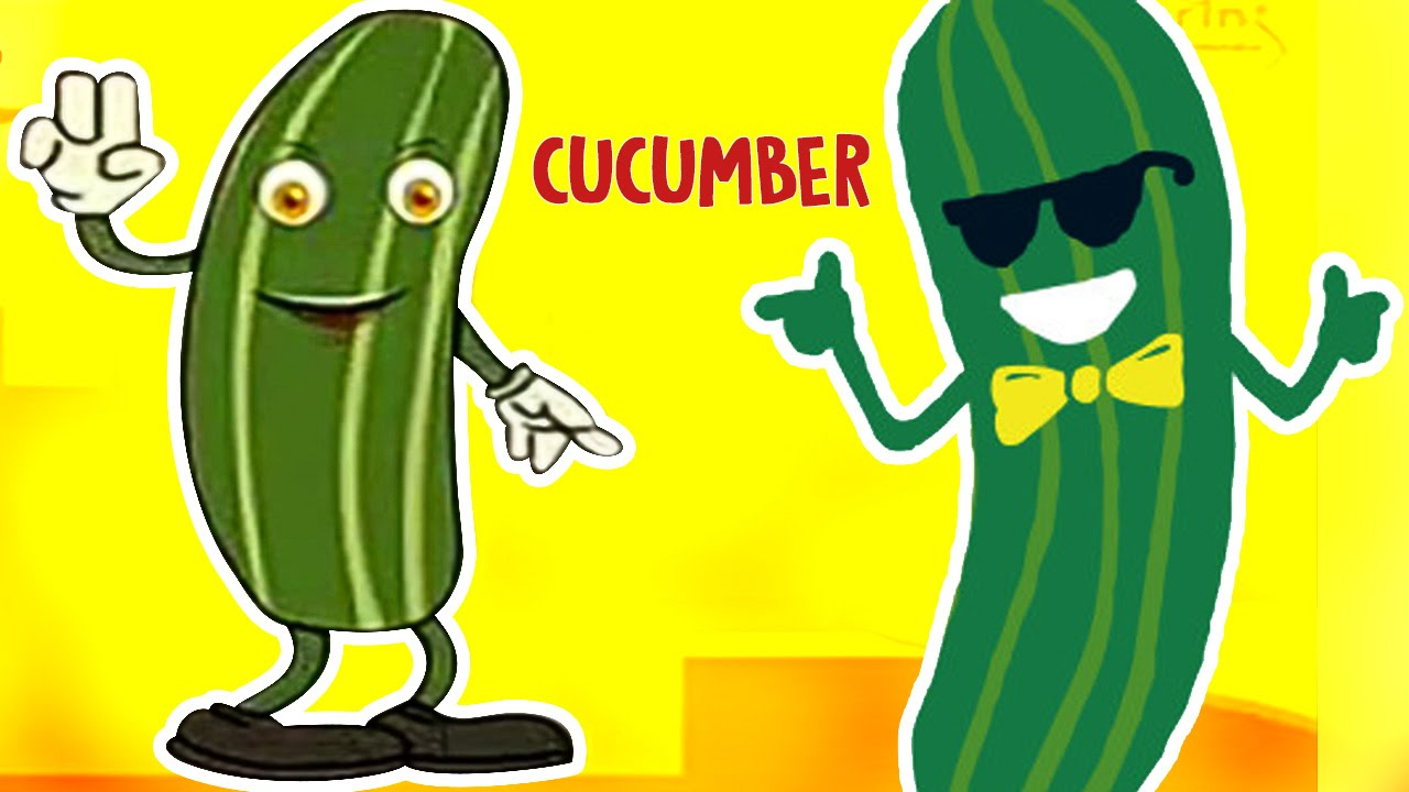 Cucumber | Vegetable Rhymes For Children | Cartoon For ...