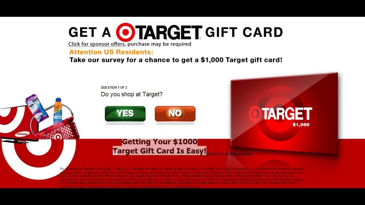 Target Online Gift Card | Where To Buy Gift Cards - YouTube