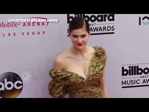 Alexandra Daddario's Wardrobe Malfunction At 2017 Billboard Music Awards | Baywatch