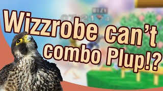 WIZZROBE CAN'T COMBO PLUP!? Stream highlight with Plup #03