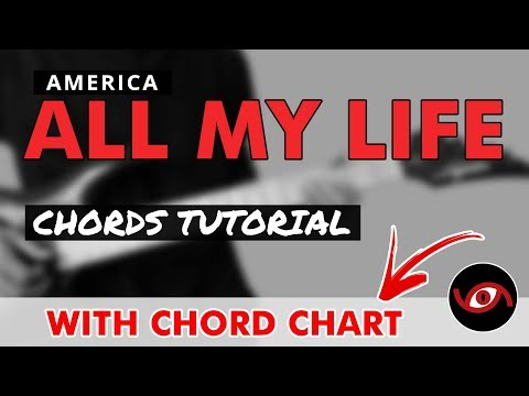 All My Life - America Guitar CHORDS Tutorial - YouTube