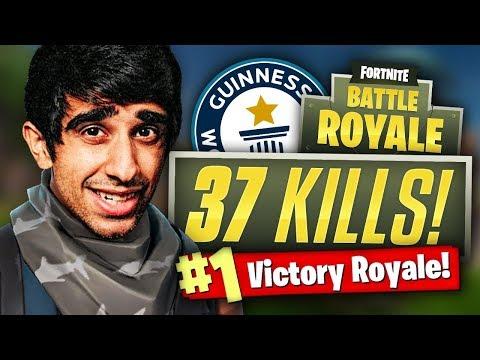 WORLDS FASTEST GAME! - 37 Kill Fortnite Battle Royale
