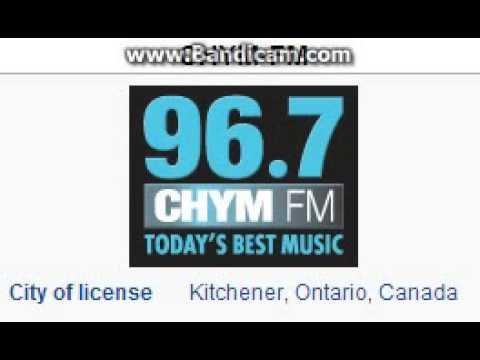"25 Days of Christmas Radio EXTRA: CHYM-FM ""CHYM 96.7"" Kitchener, ON 7pm ET TOTH ID--12/22/14"
