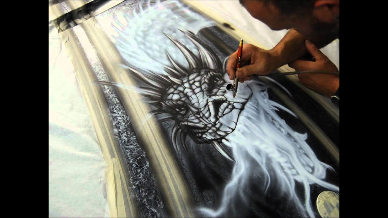 Custom Airbrush Painting
