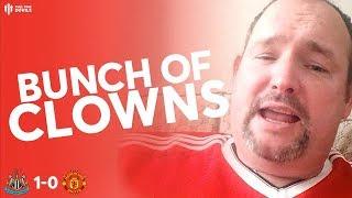 MAN UTD... THE JOKER! Newcastle 0-1 Man Utd | Andy Tate Fan Cam