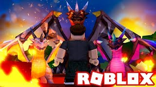EN DRAGE TYCOON! - Roblox Elemental Dragons Tycoon Dansk