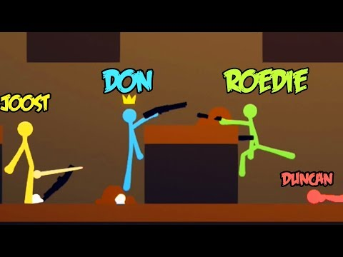 BESTE STICK FIGHT GAME OOIT!! ft. Don, Joost & Duncan