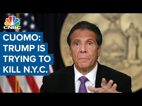 New York Gov. Andrew Cuomo: 'Donald Trump is actively trying to kill New York City'
