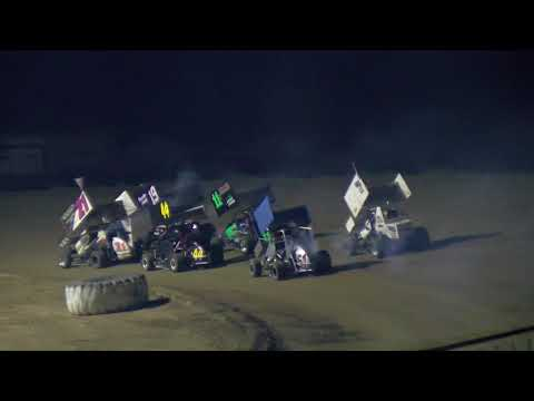 8-12-2017 250cc Micro Sprints Main Event