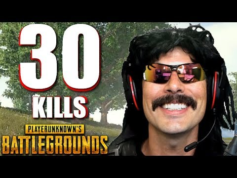 """DrDisRespect's """"30-KiII Duo Game"""" on PUBG with Shroud!"""