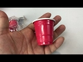2 oz red mini cup shot glass by Alaric review
