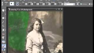 Tutorial Corel Paint - Pintar Imagen antigua