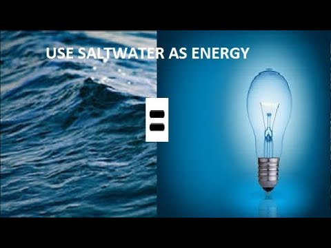 Saltwater Battery With High Output