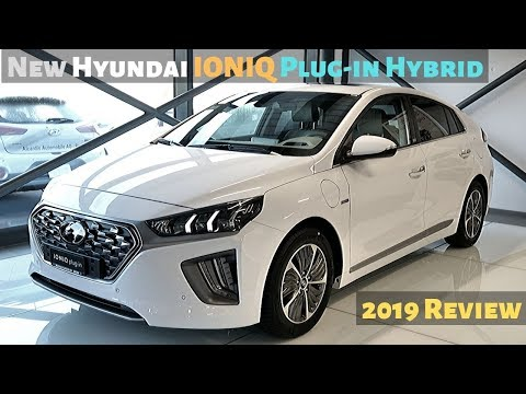 New Hyundai IONIQ Plug-in Hybrid 2020 Review Interior Exterior