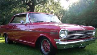 1962 Chevy II Nova SS 283 V8, Automatic 2 Speed Powerglide, and stock power steering Price $10,500
