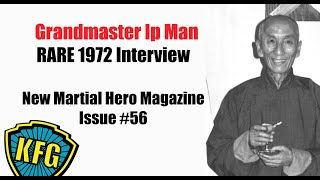 1972 Yip Man Interview New Mar…