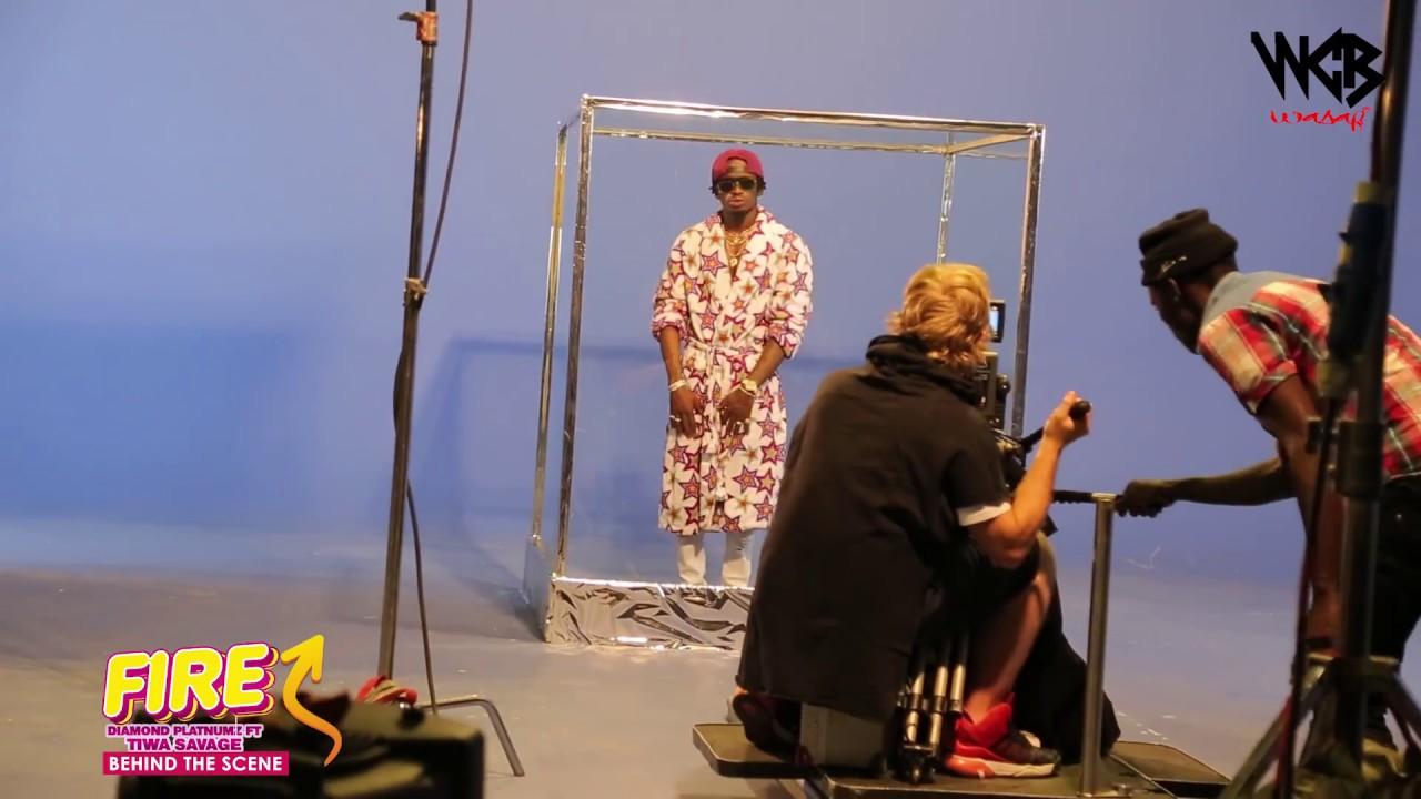 Download Diamond Platnumz - Fire ( Behind The Scene part 3)