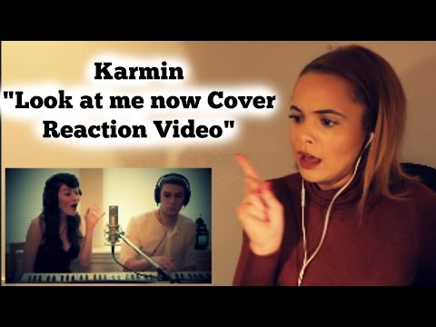 "(Cover by Karmin) Chris Brown - Look At Me Now ft. Lil Wayne, Busta Rhymes - ""Reaction Video"""