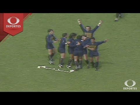 Futbol Retro: Pumas 3-3 América - Final 1990-91 | Televisa Deportes