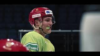 Кубок Карьяла 2020 Тренировка сборной России перед игрой со Швецией