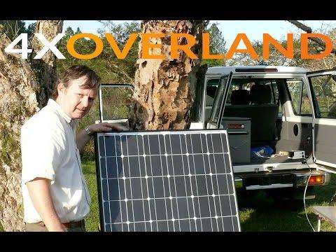 Solar power for overlanders - portable setup