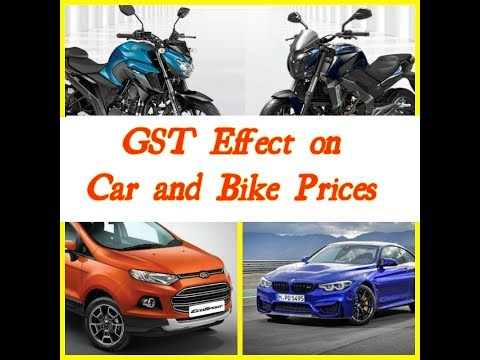 Gst Effect on Car and Bike Prices in India (in hindi)