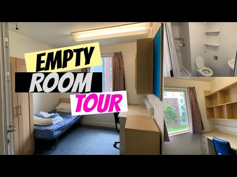 London University Empty ROOM TOUR (First Year Brunel STUDENT)