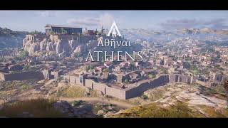 Assassin's Creed Odyssey: A Tour of Athens | 1080 HD