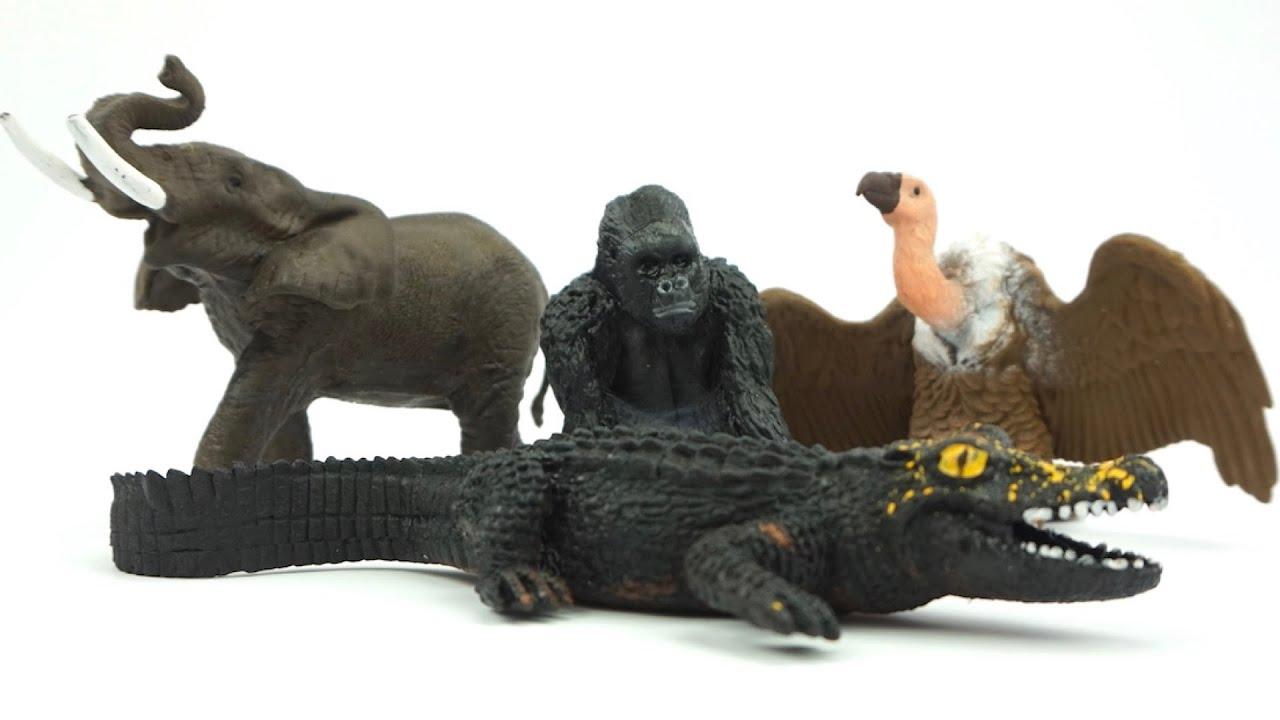 """Сюрпризы """"Невероятные животные Африки"""". Игрушки для детей"""