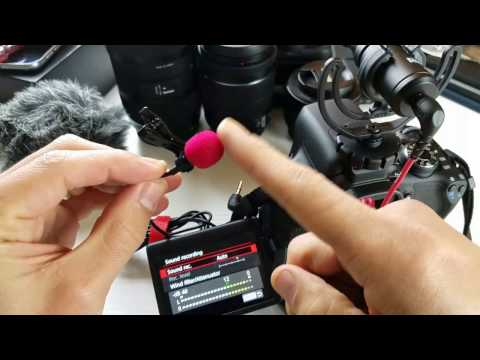 How to Use/Setup External Mic on Canon Rebel T6i
