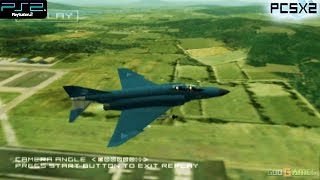 Ace Combat 04: Shattered Skies -  PS2 Gameplay SD + FXAA (PCSX2)
