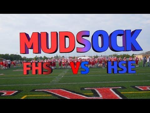 Fishers High School VS Hamilton Southeastern High School Football Game (Mudsock) 2017