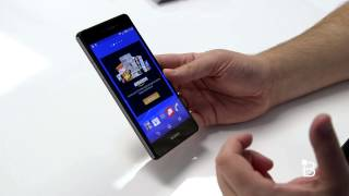 Sony Xperia Z3v Unboxing