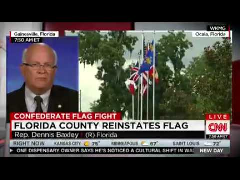 Rep. Baxley discussing Southern Heritage on CNN