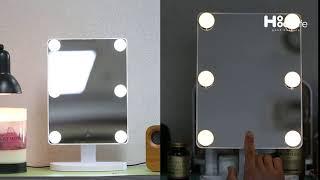 화장대 메이크업 360 LED 조명 화장 거울