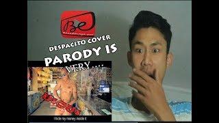 REACTION I Wear Speedos   DESPACITO PARODY (Luis Fonsi ft.Daddy Yankee)