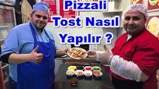 Pizzali Tost Nasıl Yapılır Challenge w/ Tostçu Eyüp