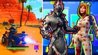 NEW In Fortnite! New Skins, Quad Crasher Gameplay! New Fortnite Update