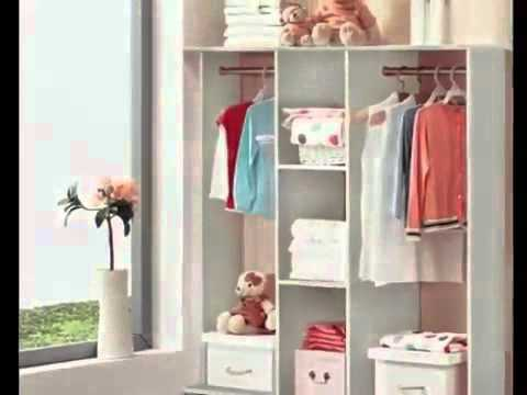 varossa spacesaver wardrobe cupboard shelves clothes hanging racks furniture dshop com au youtube. Black Bedroom Furniture Sets. Home Design Ideas