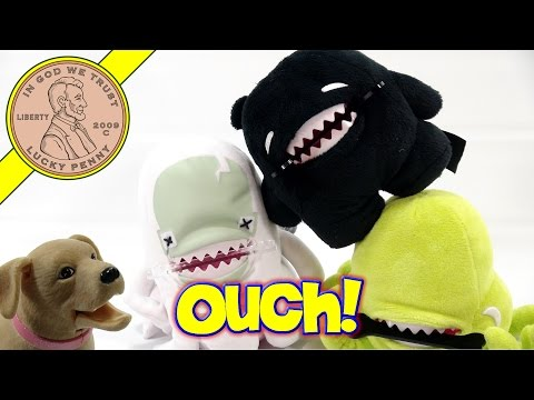 Fluffy Friends Chompin' Plush Toys - BadBad, BooBoo and YukYuk