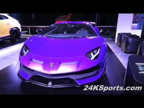 2019 Lamborghini Aventador Svj Purple 2019 Canadian International