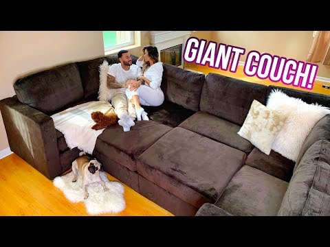 Building Our Giant Couch! | Liane V ft. Don Benjamin