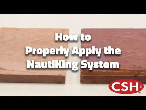How to Properly Apply the NautiKing System Finish (Nautipoxy & Nautithane)