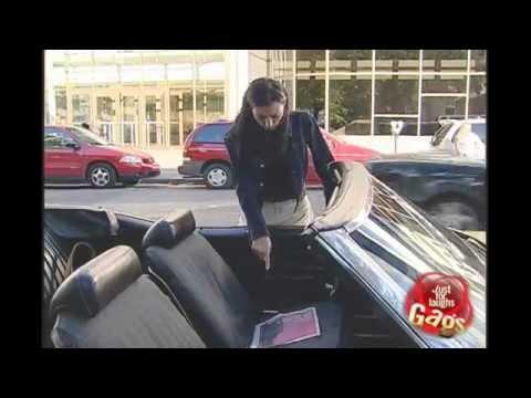 Vomit In Convertible Car Prank