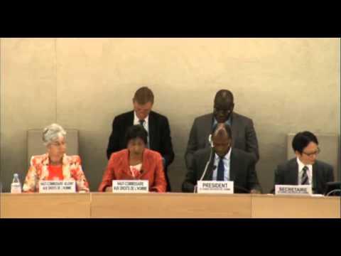 Navi Pillay concerns of executions in Iran