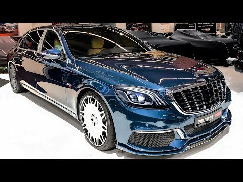 Brabus 900 (2020) Mercedes-Maybach S 650 L (V12) - Wild Luxury Rocket!