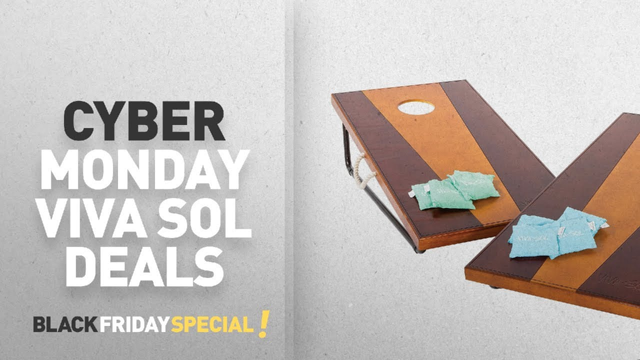 Top Cyber Monday Viva Sol 2x4 Bean Bag Toss Game